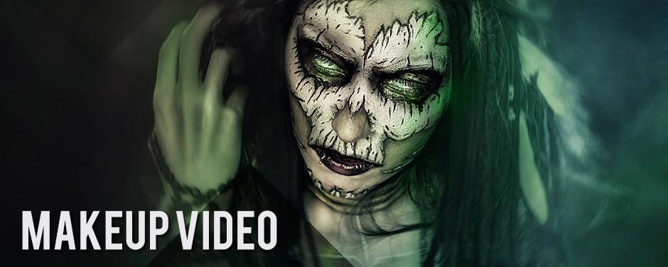 Voodoo Priestess / Original Makeup