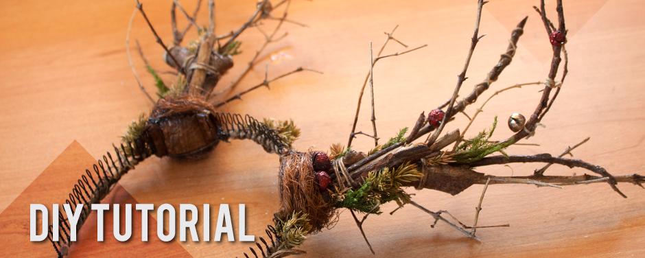 DIY Prop Christmas Astas Rudolph · Reindeer Antlers