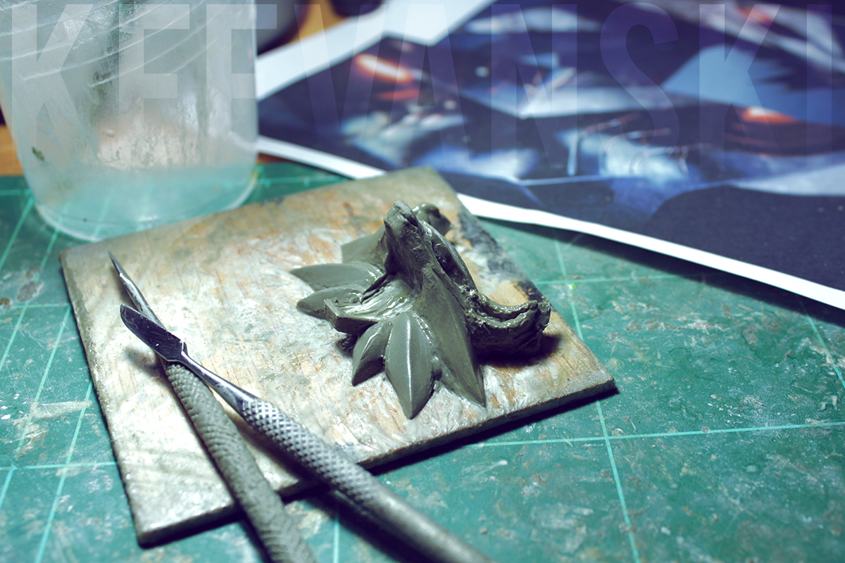 DIY Prop The Witcher 3 Medallion Geralt of Rivia
