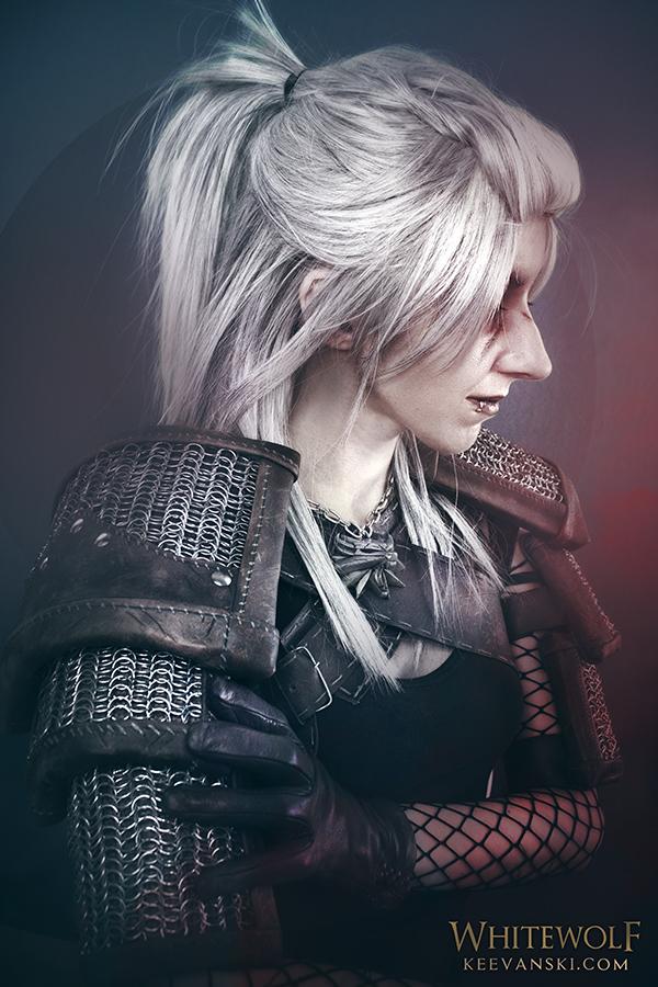 Cosplay Makeup Geralt of Rivia The Witcher 3 Wild Hunt