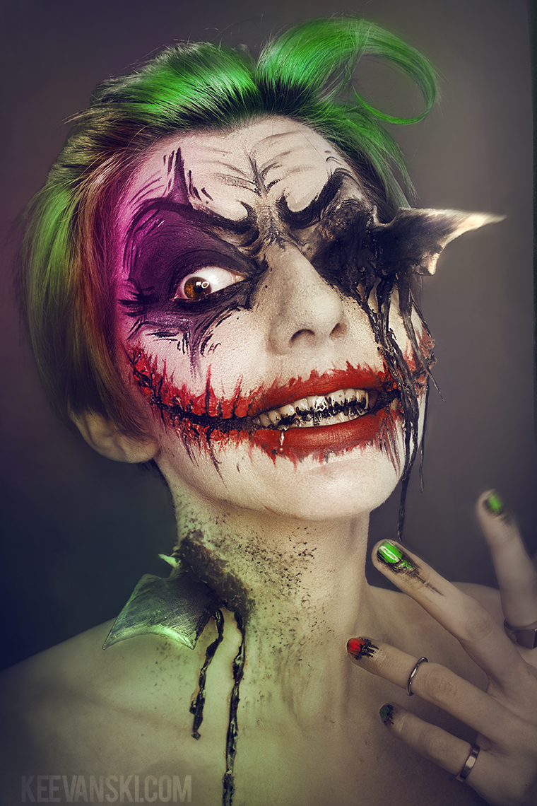 Joker-Vs-Batman-Makeup-Fx-Artwork_By_Keevanski