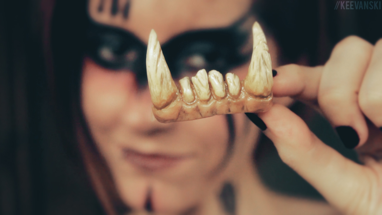 DIY Fake Teeth