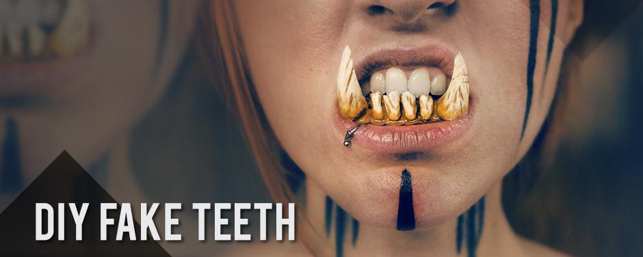 DIY Fake Teeth