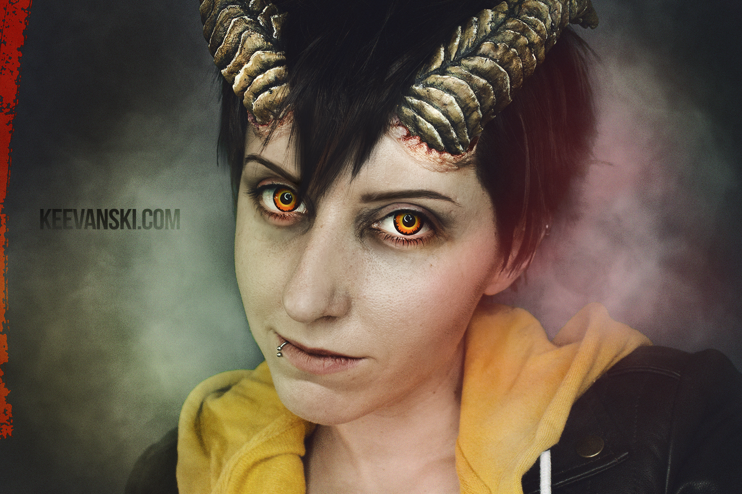 Horns Cosplay Makeup
