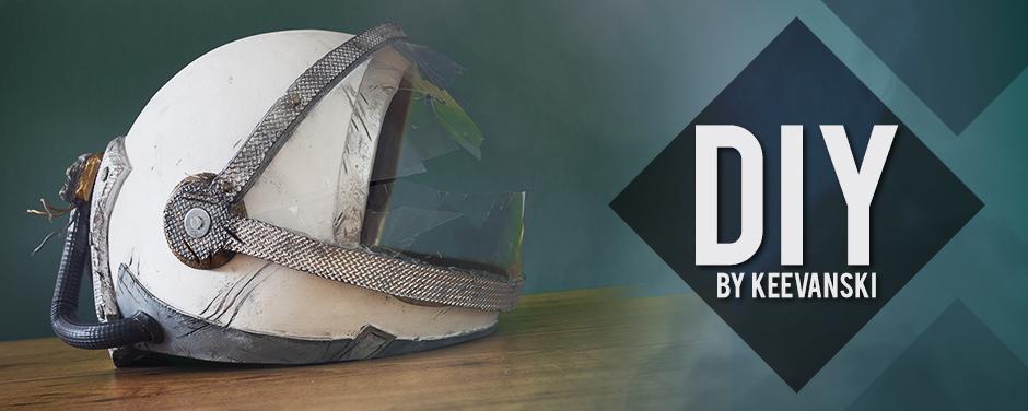 DIY Helmet Astronaut Cosplay Tutorial