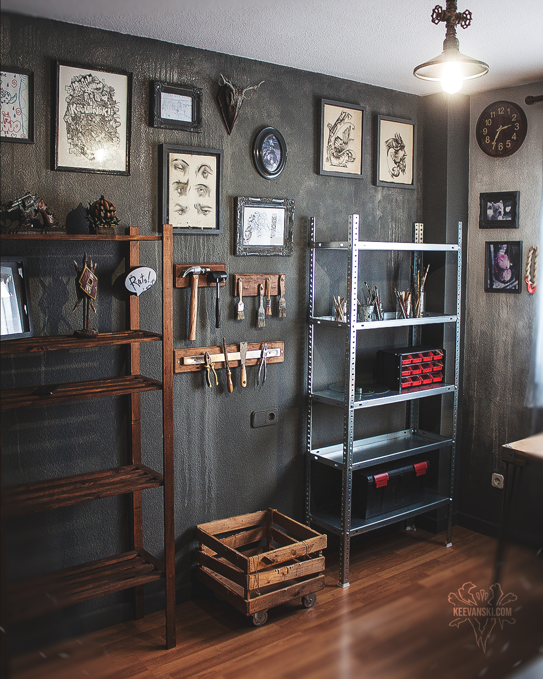 Art Studio / Workshop Makeover