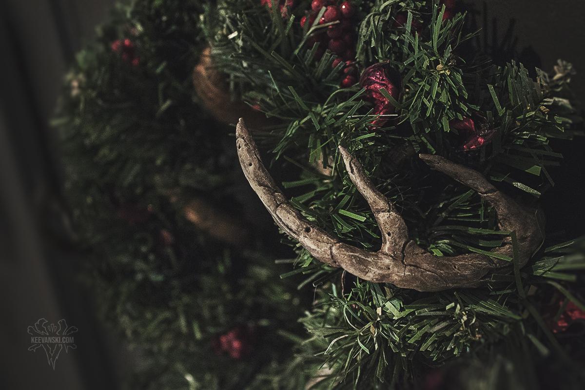 Rustic Wreath Christmas Decoration | DIY
